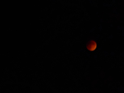 blood moon setting
